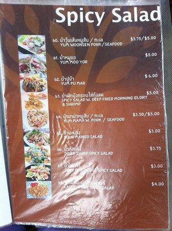Banyan Thai Cuisine: Salad