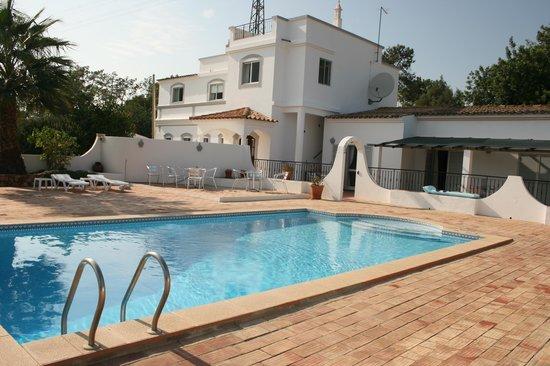 Casa Rosa : The pool area.