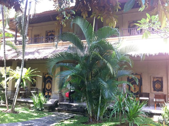 Bali Agung Village: Great gardens