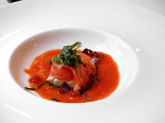 Christopher's: tuna, smoked salmon and mackerel (appetizer)