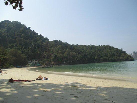 Apache Beach House: coté plus calme de la plage