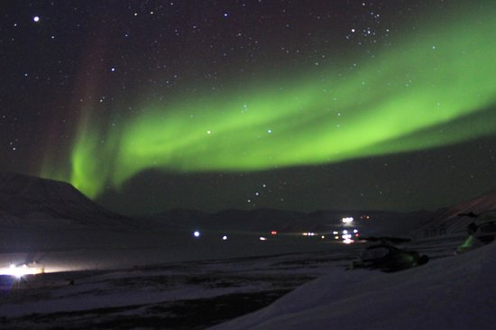 Radisson Blu Polar Hotel, Spitsbergen, Longyearbyen : Reception will call you if Northern Lights are visibl eoutside!