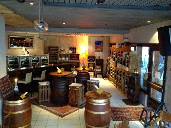 Millesime Bar Oenotheque Lounge: Millesime bar @ Haute-Nendaz, Suisse