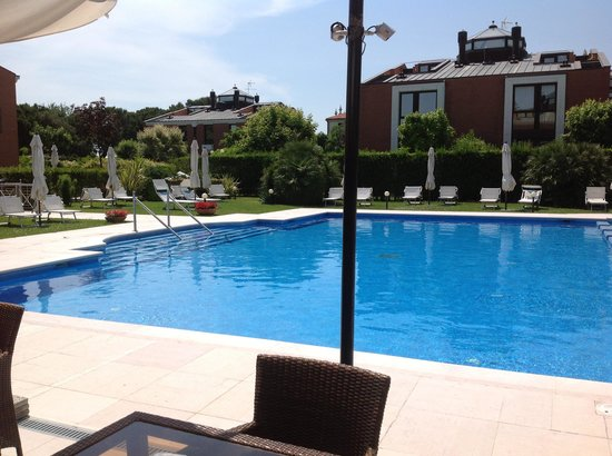 Le Ville del Lido Suite Residence: The peaceful pool...