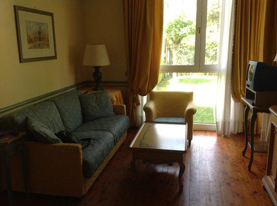 Le Ville del Lido Suite Residence: Lounge area...