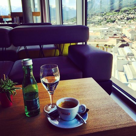 Adlers Hotel: Good Coffee