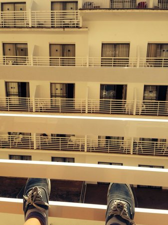 Hotel Pinero Tal : View from the balcony