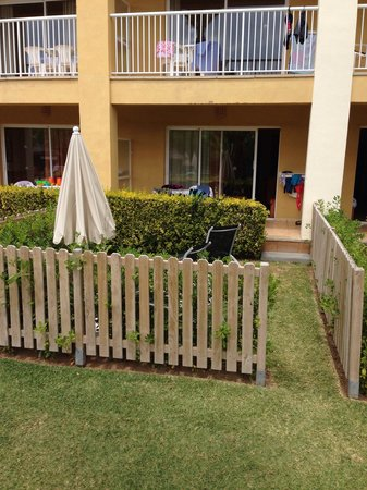 Aparthotel Club del Sol: The garden at the select room