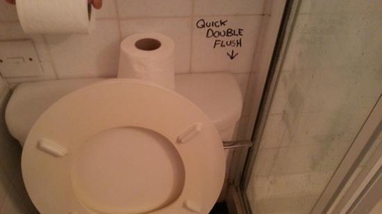 Old Grey Mare: toilet