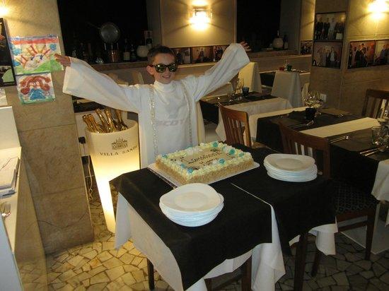Al Graspo de Ua Restaurant: Comunione Mattia