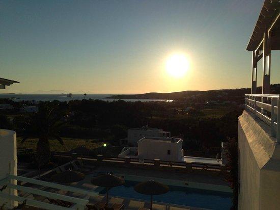 Pyrgaki Hotel: Sunset 1