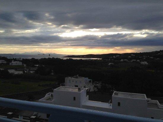 Pyrgaki Hotel: Sunset 2