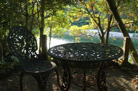 Lodge Yaedake Sanso : the river at the back of the lodge