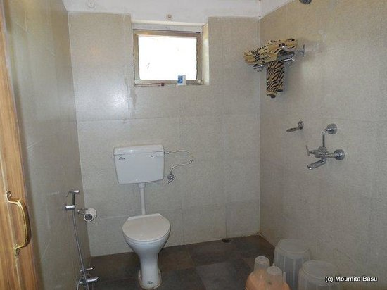 Baghira Log Huts: Attached Bathroom