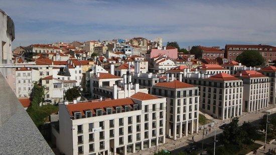 Hotel Mundial ,vista da varanda do quarto