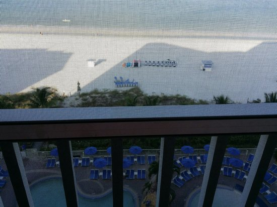 Pink Shell Beach Resort & Marina: View from room