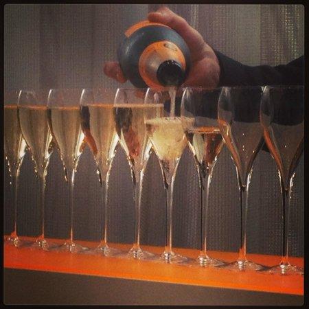 Veuve Clicquot-Ponsardin: Post tour tasting