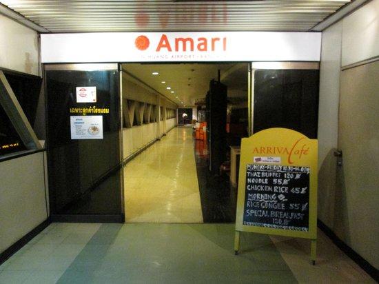 Amari Don Muang Airport Bangkok: アマリ ドン ムアン(入り口)