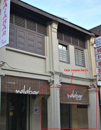 Malabar Inn: Our room here