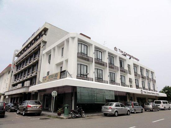 The Crown Borneo Hotel: ザ クラウン ボルネオ ホテル(外観)