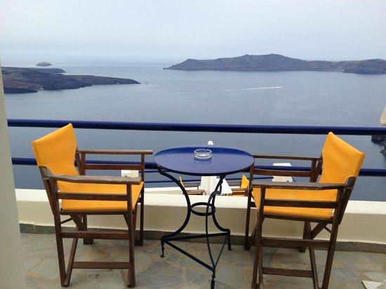 Chic Hotel Santorini: balcony