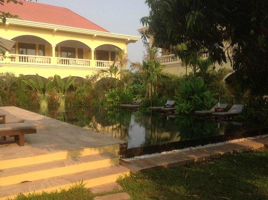 Pavillon d'Orient Boutique-Hotel : Main pool