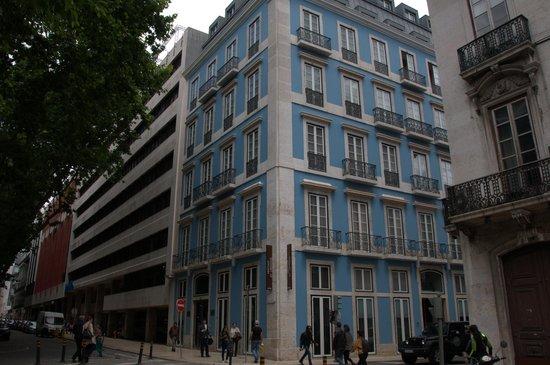 Heritage Avenida Liberdade: Hotellet sett utenfra