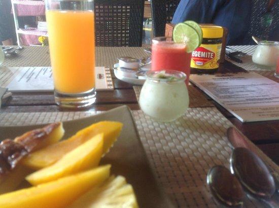 Pavillon d'Orient Boutique-Hotel : part of a delicious breakfast