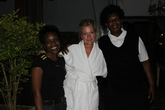 Highgrove House: Fabulous Spa staff
