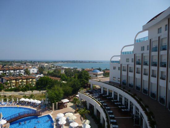 Side Prenses Resort Hotel & Spa: View from our room.