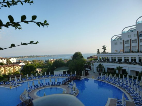 Side Prenses Resort Hotel & Spa: View from terrace