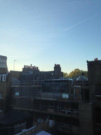 Rosewood London: Вид из окна нашего номера