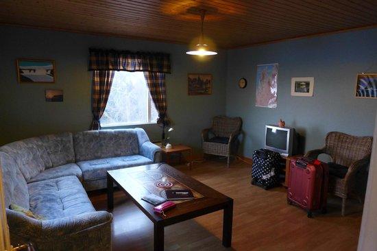 Nedra Vatnshorn Guesthouse : living room
