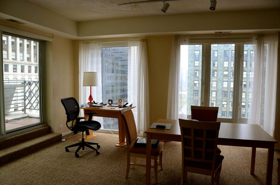 Comfort Suites Michigan Avenue / Loop : room with a view