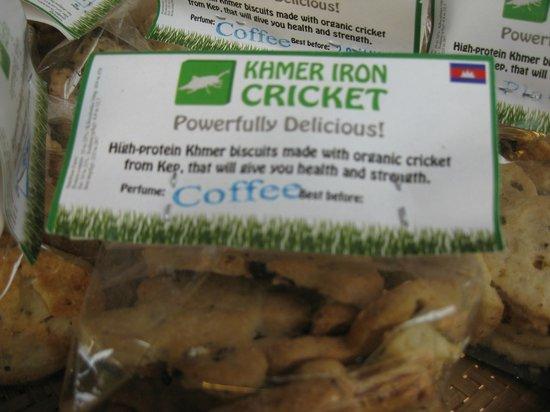 Pavillon d'Orient Boutique-Hotel : Cricket cookies.