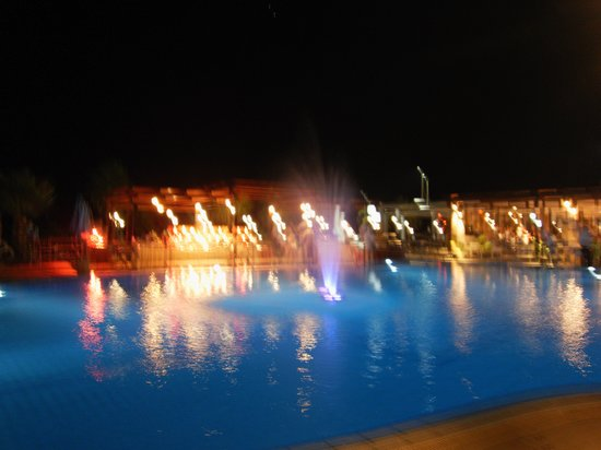 Kefalos Beach Tourist Village: Night time