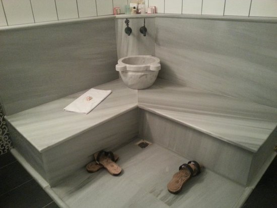 Garden House Istanbul: The amazing Turkish bath