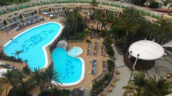 Gloria Palace San Agustín Thalasso & Hotel: Vistas desde la planta 6