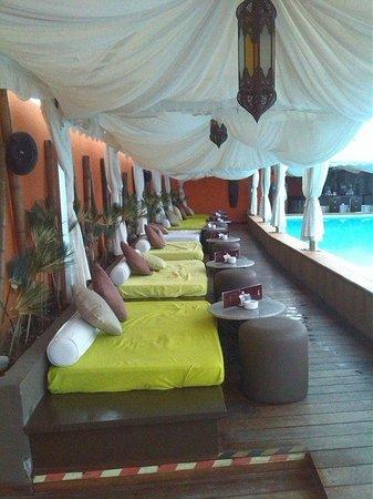 Gloria Palace San Agustín Thalasso & Hotel: Zona Chill Out