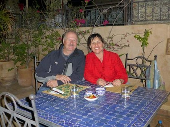 Medina Cafe : A romantic place on the terrace