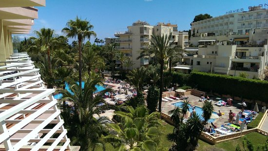 Globales Palmanova : View from room 218