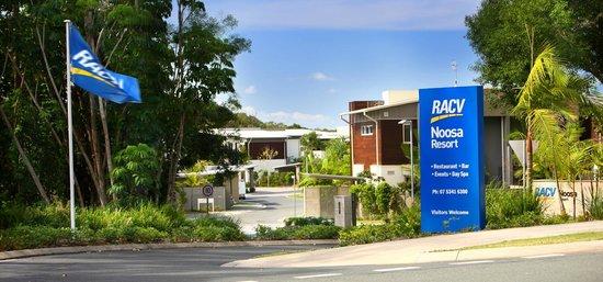RACV Noosa Resort entrance