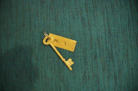 5th Lane House: the room key