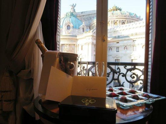 InterContinental Paris Le Grand: First evening suprise!