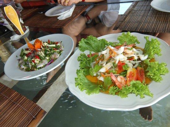 Buddha View : spicy thai salads