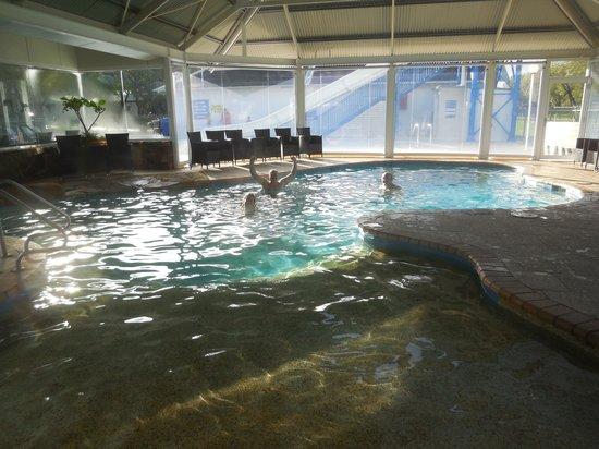 Mandalay Holiday Resort and Tourist Park: Warm morning dip