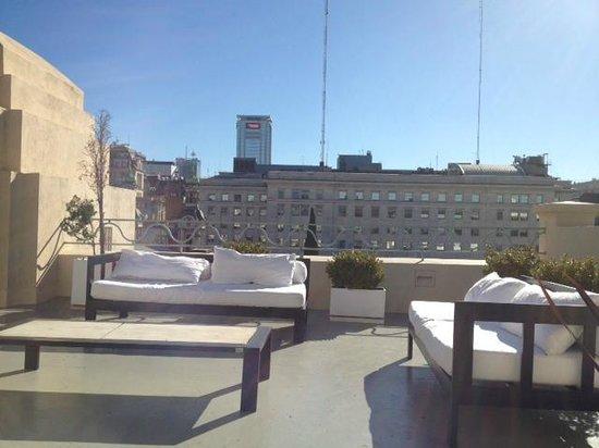 Moreno Hotel Buenos Aires: Terraço