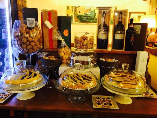 Taverna Trilussa: Pastries