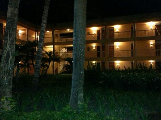 VH Gran Ventana Beach Resort: The forrest in the middle of our resort rooms.