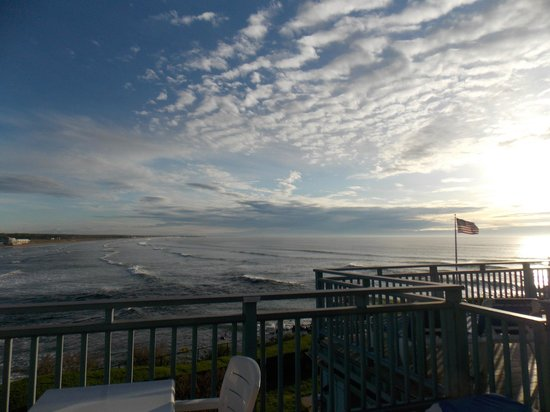 The Beachmere Inn: View from our deck.